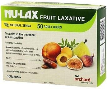Nulax Fruit Laxative 500gm