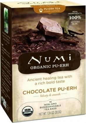 Numi Organic Tea Chocolatte Pu-erh 16Teabags