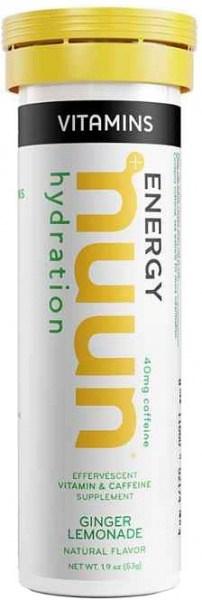 Nuun Vitamins Ginger Lemonade Effervescent Tablets 53g