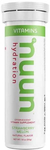 Nuun Vitamins Strawberry Melon Effervescent Tablets 50g