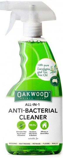 Oakwood All in 1 Anti Bacterial Cleaner 500ml