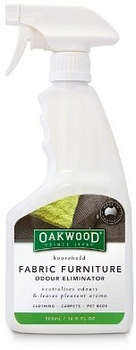 Oakwood Fabric Furniture Odour Eliminator  500ml