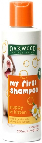 Oakwood My First Shampoo Puppy and Kitten 280ml