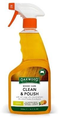 Oakwood Wood Care Clean & Polish 250ml