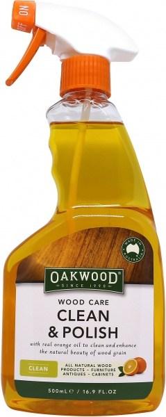 Oakwood Wood Care Clean & Polish 500ml