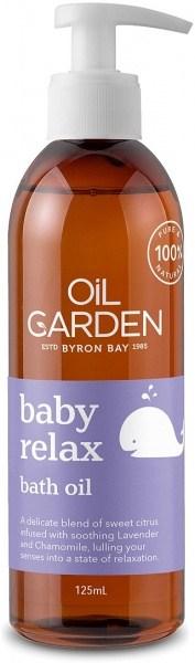 Oil Garden Baby Relax Bath Oil 125ml
