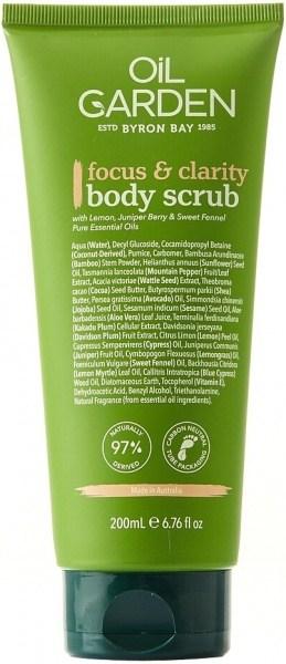 Oil Garden Body Scrub Focus & Clarity 200g
