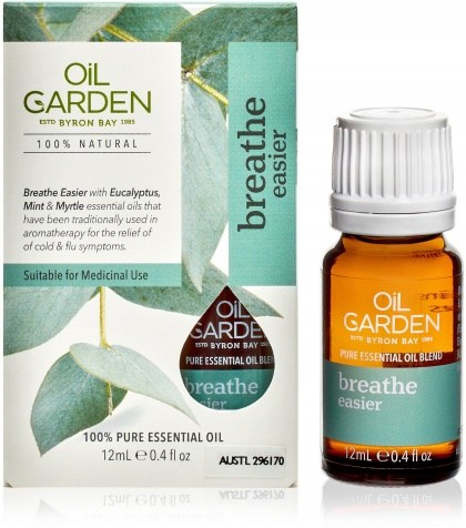 Oil Garden Breathe Easier Pure Essential Oil Blends 12ml
