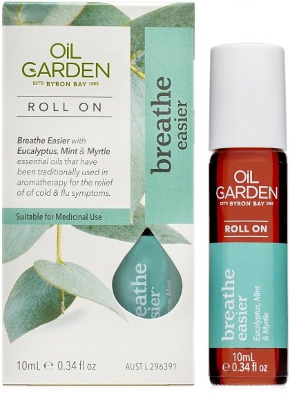 Oil Garden Breathe Easier Roll On Oil 10ml