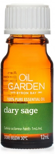 Oil Garden Clary Sage Pure Essential Oil 12ml
