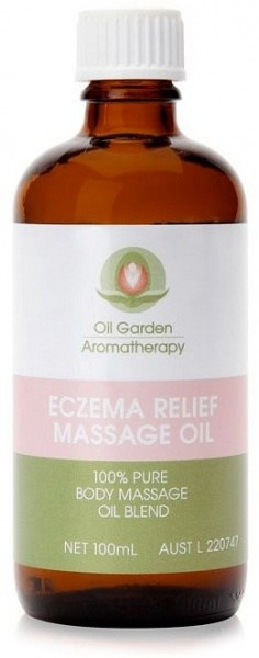 Oil Garden Eczema Relief Massage Oil 100ml