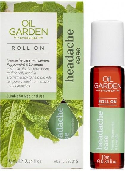 Oil Garden Headache Ease Roll-On 10ml