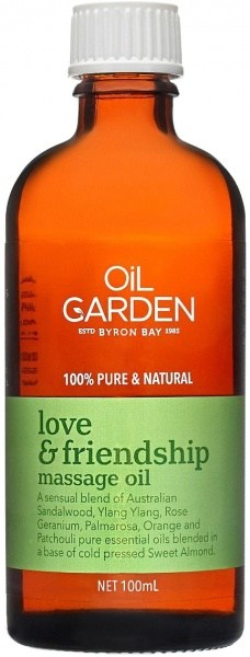 Oil Garden Love & Friendship Pure Body & Massage Oil Blend 100mL