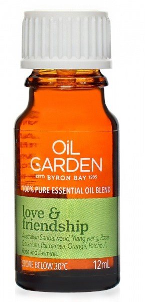 Oil Garden Love & Friendship Pure Essential Oil Blends 12ml