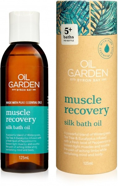Oil Garden Muscle Recovery Bath Oil 125ml
