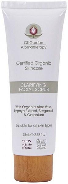 Oil Garden Organic Skincare Clarifying Facial Scrub 75ml