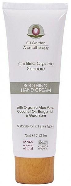 Oil Garden Organic Skincare Soothing Hand Cream 75ml