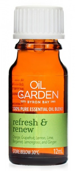 Oil Garden Refresh & Renew Pure Essential Oil Blends 12ml