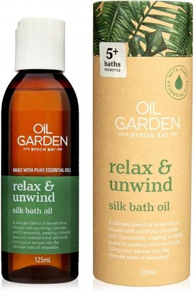 Oil Garden Relax And Unwind Bath Oil 125ml