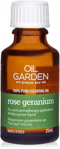 Oil Garden Rose Geranium Pure Essential Oil 25ml