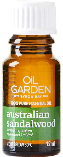 Oil Garden Sandalwood (Aust) Pure Essential Oil 12ml