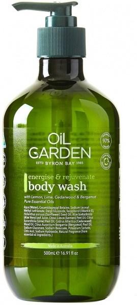 Oil Garden Shower Body Wash Cleanser Energise & Rejuvenate 500ml