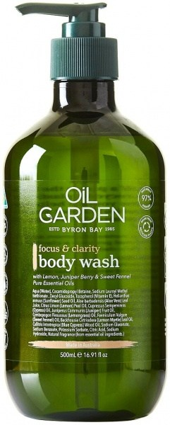 Oil Garden Shower Body Wash Cleanser Focus & Clarity 500ml