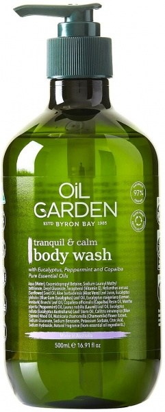 Oil Garden Shower Body Wash Cleanser Tranquil & Calm 500ml
