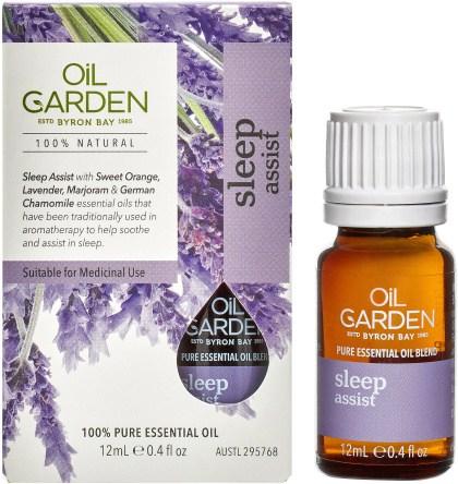 Oil Garden Sleep Assist Essential Oil Blend 12ml