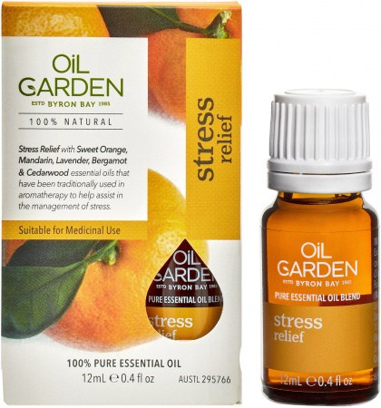 Oil Garden Stress Relief Essential Oil Blend 12ml