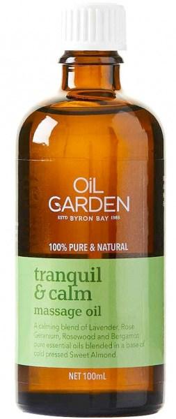 Oil Garden Tranquil & Calm Pure Body & Massage Oil Blend 100mL