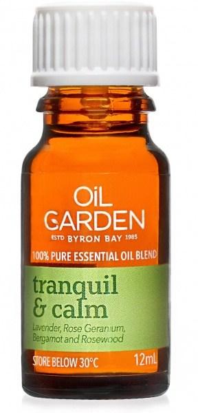 Oil Garden Tranquil & Calm Pure Essential Oil Blends 12ml
