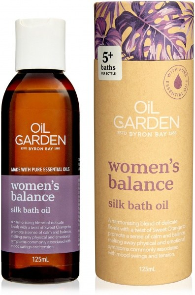 Oil Garden Women'S Balance Bath Oil 125ml