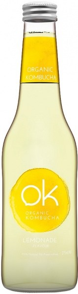 OK Organic Kombucha Lemonade 275ml
