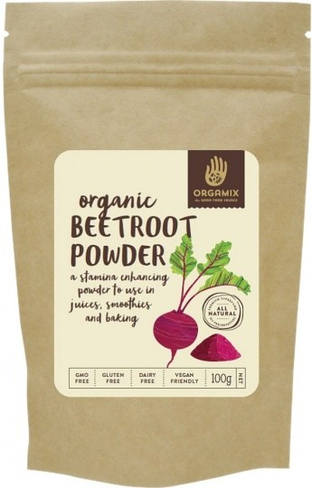 Orgamix Organic Beetroot Powder  100g