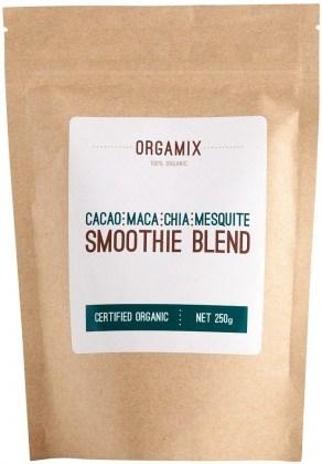Orgamix Organic Cacao,Maca,Chia,Mesquite Smoothie Blend  250g