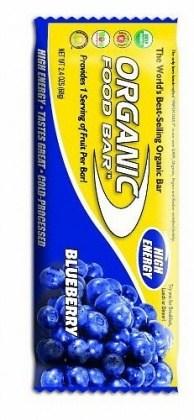 Organic Foodbars Wild Blueberry 12x68gm