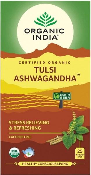 Organic India Tulsi Ashwagandha 25Teabags