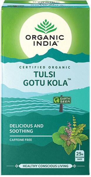 Organic India Tulsi Gotu Kola Tea 25Teabags