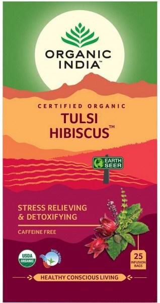 Organic India Tulsi Hibiscus 25Teabags