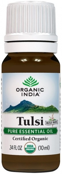 Organic India Tulsi (Holy Basil) Essential Oil 10ml