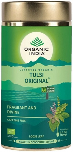 Organic India Tulsi Original Loose Leaf Tea 100g