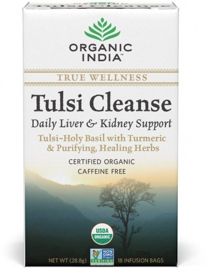 Organic India Wellness Tulsi Cleanse Tea 18Teabags