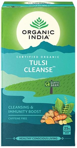 Organic India Wellness Tulsi Cleanse Tea 25Teabags