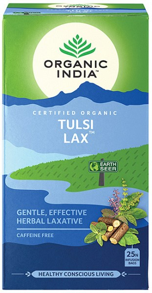 Organic India Wellness Tulsi Lax Tea 25 Teabags