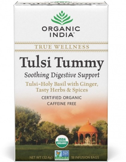 Organic India Wellness Tulsi Tummy Tea 18Teabags