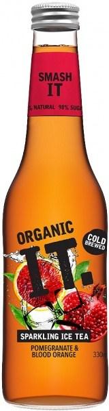 Organic IT Sparkling Iced Tea Pomegranite & Blood Orange 330ml