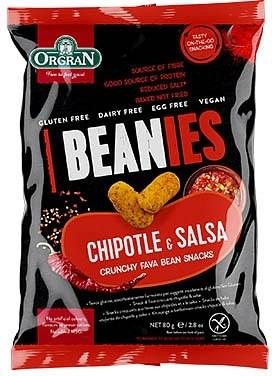 Orgran Beanies Chipotle & Salsa Crunchy Fava Bean Snacks 80g
