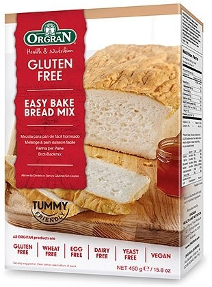 Orgran Bread Mix GFWFYF 450gm