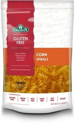Orgran Corn Spiral 250gm
